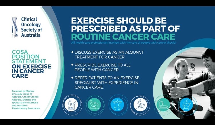 Exercise and Cancer: latest recommendations Image