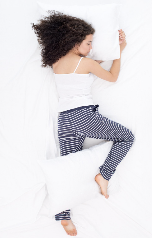 Hack your sleep position- wake up less creaky! Image