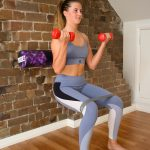 squats with a roller, a functional exercise