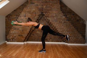 reaching balance exercise