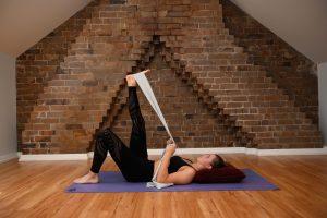 modified hamstring stretch
