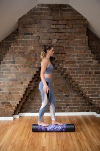 roller balance exercise