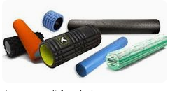 a sample of foam rollers that are availiable