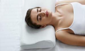 back sleeper pillow options